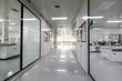 canvas print picture - Drug manufacturing laboratory equipment.