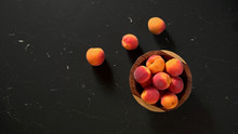 Flat Lay Photo - Apricots In S...