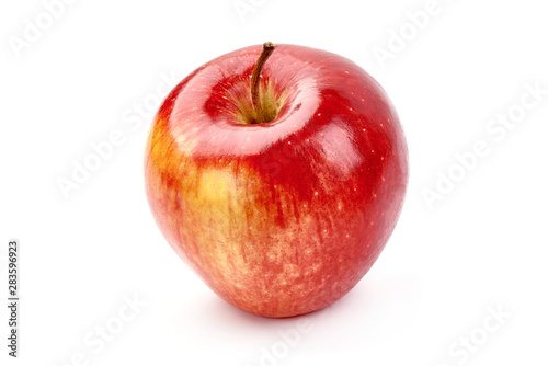 Photo sur Toile Les Textures Red delicious apple, isolated on white background