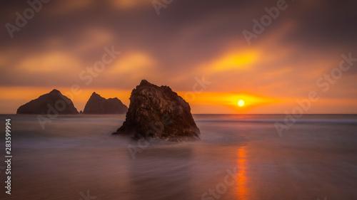 Photo  Holywell Beach Cornwall