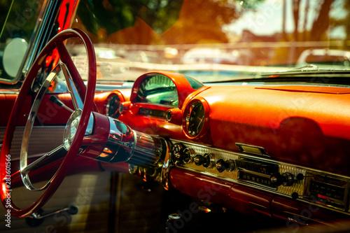 Poster Vintage voitures classic car vintage car