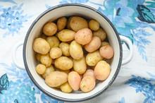 Boiled Potatoes In Their Skins...