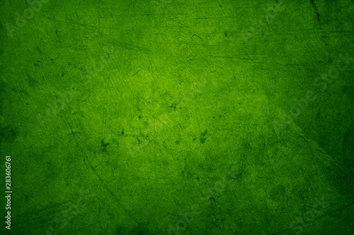 Green concrete wall - 283606761