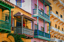 Colorful Houses Of Old Town In...