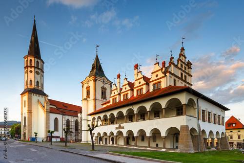 Obraz Levoca, Slovakia - fototapety do salonu
