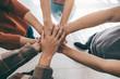 Teamwork Togetherness Collaboration Concept.
