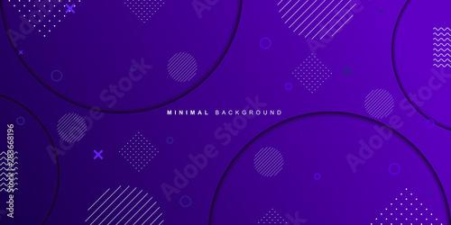 Montage in der Fensternische Violett Purple geometric gradient background