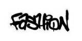 Fototapeta Młodzieżowe - graffiti fashion word sprayed in black over white