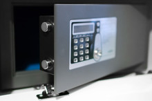 Black Small Home Or Hotel Safe...