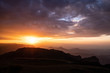 panorama of sunset, Simien Mountains, Ethiopia