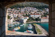 Port Of Dubrovnik And Houses O...