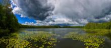 Beautiful View Of  Lake In Sum...