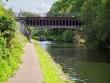 canvas print picture Birmingham Canal