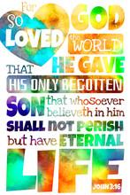 For God So Loved The World (John 3:16) King James Version