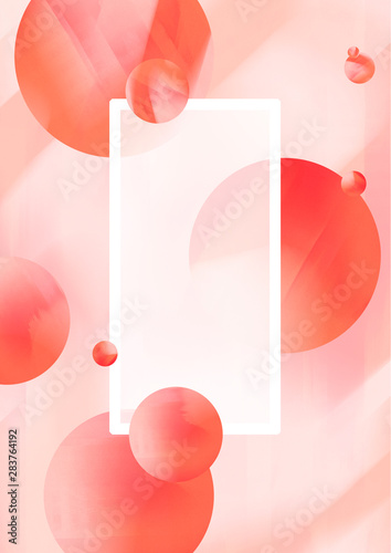 Circle Design Abstract Background Fototapet