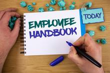 Writing Note Showing Employee ...