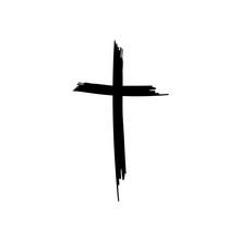 Hand Drawn Christian Cross