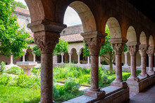 Cloister With Areches And Colu...