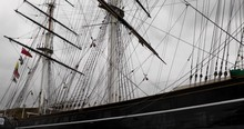 Close Up: Giant Cutty Sark Sai...