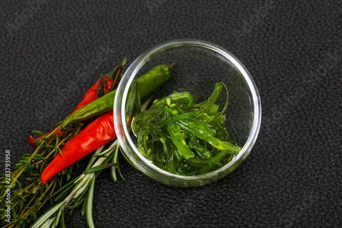 Fotografie, Obraz  Seaweed salad Chuka