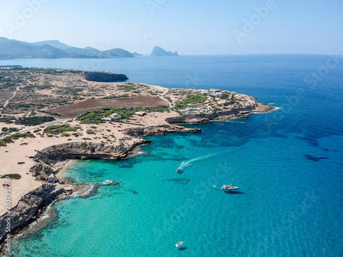 Cala Escondida Beach, Ibiza. Spain.
