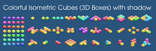 Colorful Isometric Cubes (3D B...