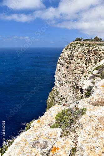 Fototapeta Wysoki klif nad morzem obraz
