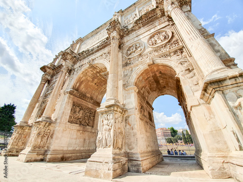 The Arch of Constantine in Rome Fototapet