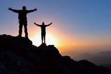 peak and target passion, successful people - 283821169