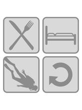 Schlafen Taucher Essen Täglic...
