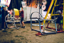 Empty Chair On The Chains Of T...