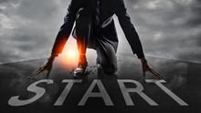 Businessman Get Ready On Start...