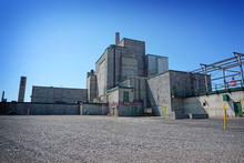 B Reactor At Hanford Nuclear Site In Eastern Washington