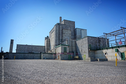 Photo B Reactor at Hanforn nuclear site in Eastern Washington