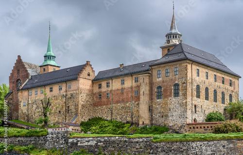Akershus Fortress in Oslo, Norway Fototapet