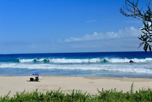 伊豆下田 台風前の大波の入田浜
