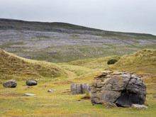 The Burren With Fog At Dunes O...