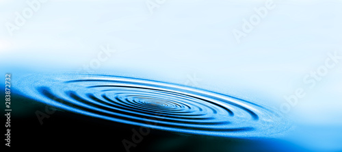 Fotomural cerchi d'acqua