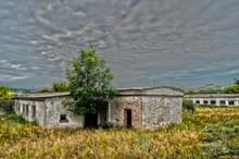 Abandoned Huge Milk Farm Near Chernobyl Area. Kiev Region. HDR