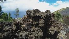 Hardened Lava Rock Close Up- S...