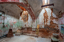 A Old, Delapidated Prison Cell