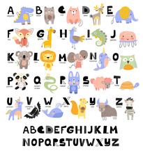Funny Alphabet For Young Child...