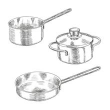Set Of Kitchen Utensils For Co...