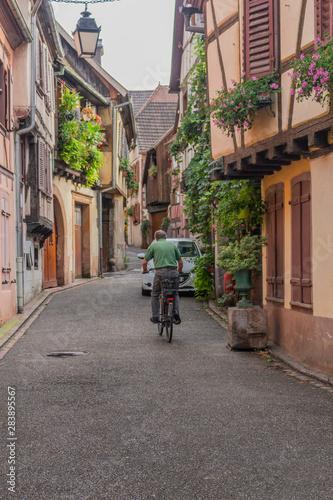Fotografie, Obraz  Wunderschöne Erkundungstour durch das malerische  Elsaß Lothringen in Frankreich