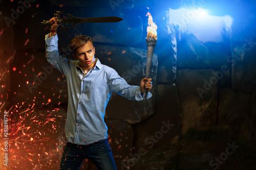 Photo sword for jedi