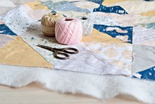 Hand Stitch Quilting Process: ...