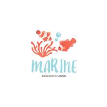 Cute Reef School Of Clownfish ...