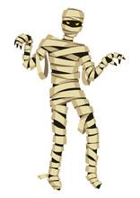 Scary Mummy Figure.