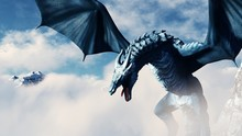 High Resolution Ice Dragon 3D ...