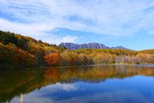 上信越国立公園。紅葉...